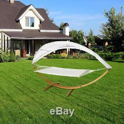200KG Hammock Roof Frame Hanging Bed Swing Chair Garden Camp Swing Seat
