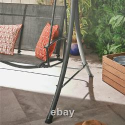 3 Seater Swing Garden Seat Sun Bench Outdoor Patio Furniture Lounger With Hammock