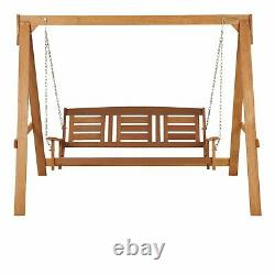 3 Seater Wooden Swing Garden Seat Brand New Fast Delivery