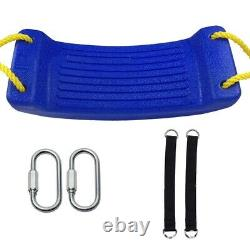 5XHigh Quality Outdoor Swings Seat Set Toy with Adjustable Ropes For Garden