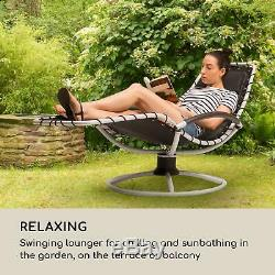 B-Stock Swing Chair Garden Lounger Rocking Recliner Patio Furniture Seat Home