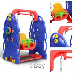 Baby Toddler Swing Kids Playground Garden Home Outdoor Seat Play Fun Toy Safety