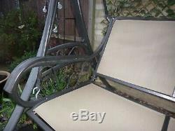 Chatsworth Luxury Garden 3 Seater Swing Seat With Cushions