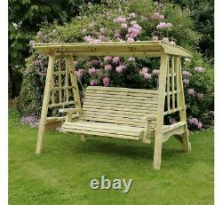 Churnet Valley 3 Seat Garden Swing delivery will take up to 4 weeks