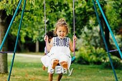 Extending Garden Toy Kids Swing Growing Frame Baby Seat Child Seat Durable New