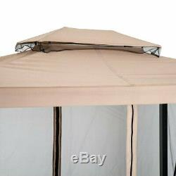 Garden Furniture Swing Seat Stand Double Hammock Bench Canopy water Resistance