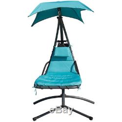 Garden Outdoor Helicopter Dream Hammock Swing Chaise Chair Lounger Seat Canopy