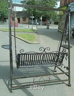 Garden/Patio Two seater Swing Seat Metal Buyer to collect