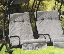 Garden Swing 2 Seater Deluxe independently swinging chair quality outdoor Seats