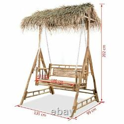 Garden Swing Bench With Trellis/Canopy Swing Chair Outdoor Furniture Seat