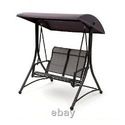 Garden Swing Chair Seat Hammock Outdoor 2 Seater Hanging Canopy Bench Furniture