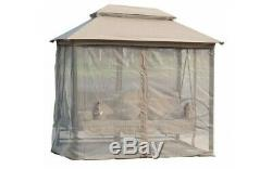Garden Swing Hammock Seat Gazebo Cover Shade Curtains Outdoor Patio Chair Bed