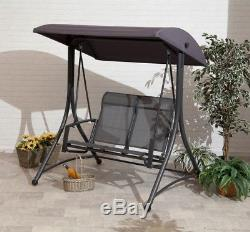 Garden Swing Havana Suntime Charcoal 2 Seater Swing Seat Free Delivery