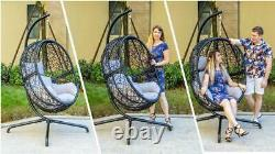 Hanging Egg Chair Single Swing Seat Garden Hammock Chair