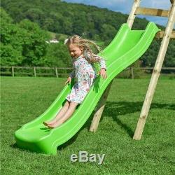 Kids Swing Slide Wood Multi Play Centre Outdoor Garden Swing Fun With Seat New