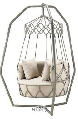 Large Garden Swing Seat 210cm x 160cm RRP £995 Complete with Cushions