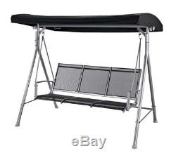 Malibu 3 Seater Garden Swing Seat Black. From the Official Argos Shop on ebay