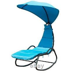 NEW Hammock Hanging Swing Chaise Lounge Chair Garden Outdoor Patio Seat