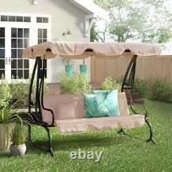 Naomi Swing Seat with Stand Garden Furniture Outdoor Beach Pool Lawn Porch Seat