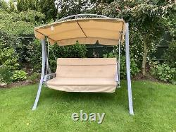Nearly New 3 Seater Garden Swing Seat