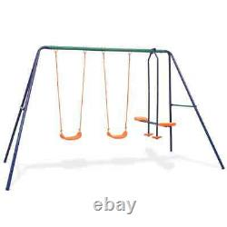 Outdoor Children's Swing Chair Seat Set Home Garden Kids Play multi Choices