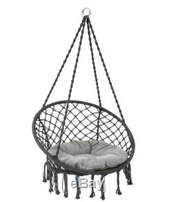 Outdoor Garden Hammock Furniture Swing Seat Removal Cushions Retro Egg Chair