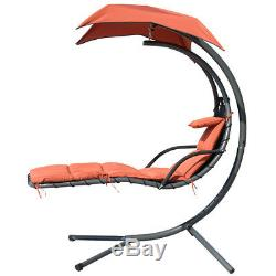 PATIO GARDEN HAMMOCK HELICOPTER DREAM SWING CHAIR SEAT SUN LOUNGER WithCUSIONS NEW