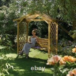Rowlinson Dartmouth Garden Arbour with Swing Seat