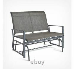 Seater Glider Bench Swing Rocking Seat Outdoor Decking Balcony Patio Terrace Uk