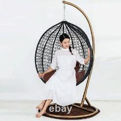 Swing Seat Chair With Stand For Gardens Bedrooms Indoor Outdoor Hanging Furnitur