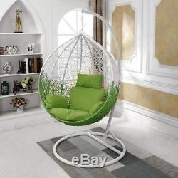 Swing Seat Cushion Thick Nest Hanging Chair Back-H Egg Garden Swing Hanging