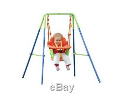 Toddlers Swing Nursery Infant Support Back Seat Garden Baby Play Outdoor Safe