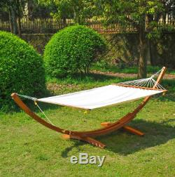 Wooden Garden Swing Seat Large Outdoor Furniture Sun Bed Patio Hammock Lounger